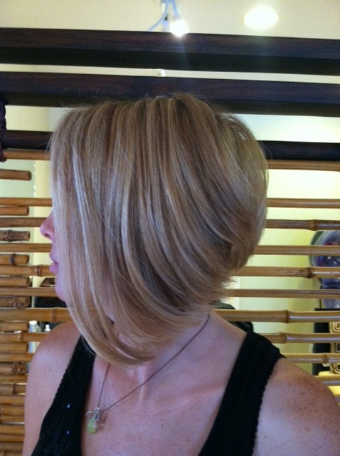 A Line Bob by Wendy