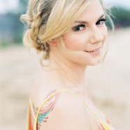 Maui Bridal Beach Hair and Make Up published in Wedding Sparrow photo by Wendy Laurel